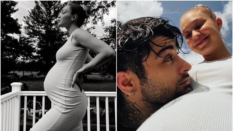 Gigi Hadid je objavila dosad neviđene fotografije iz trudnoće