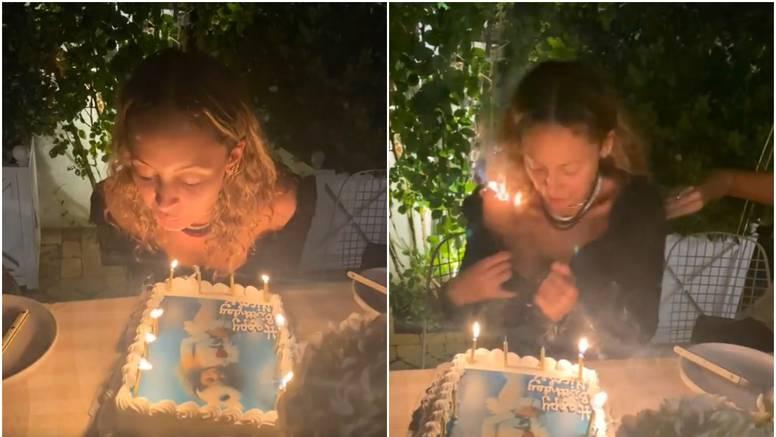 VIDEO Nicole Richie na proslavi rođendana zapalila svoju kosu