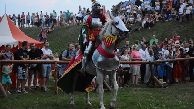 Koprivnica: Viteški turnir na Renesansnom festivalu