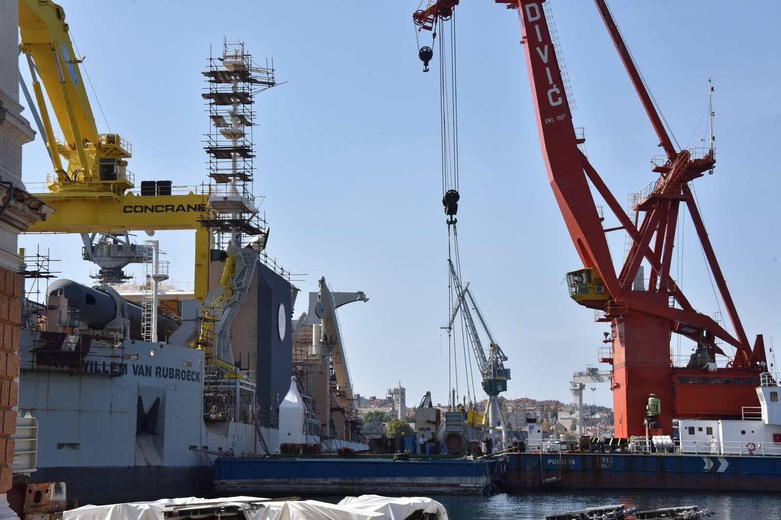 Pula: Brodogradilište Uljanik