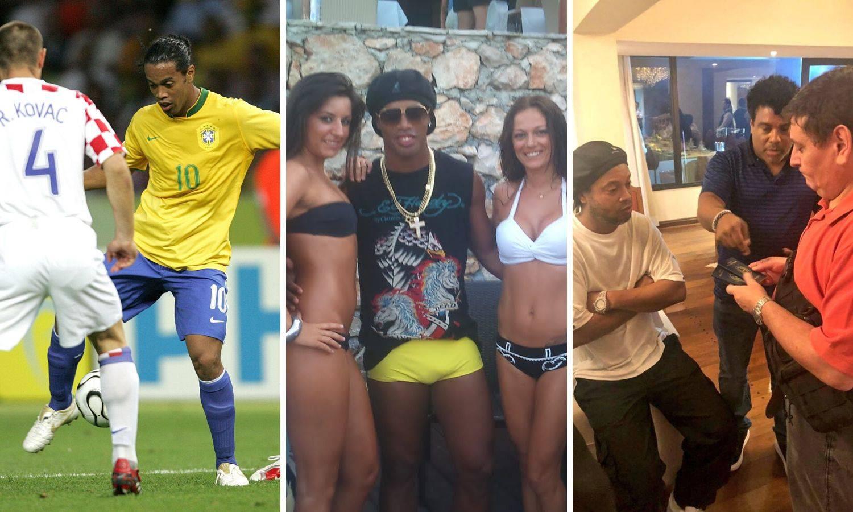 Kako je propao Ronaldinho: Od sambe do bankrota i zatvora...