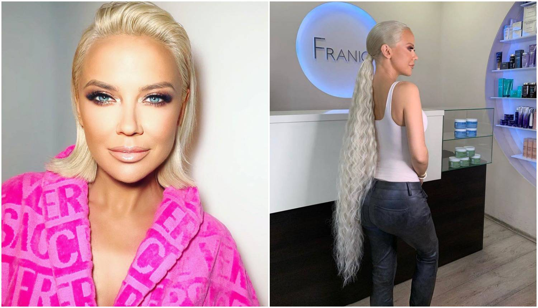 Šuput je ponovno promijenila frizuru: 'Kosa je duža od nje'