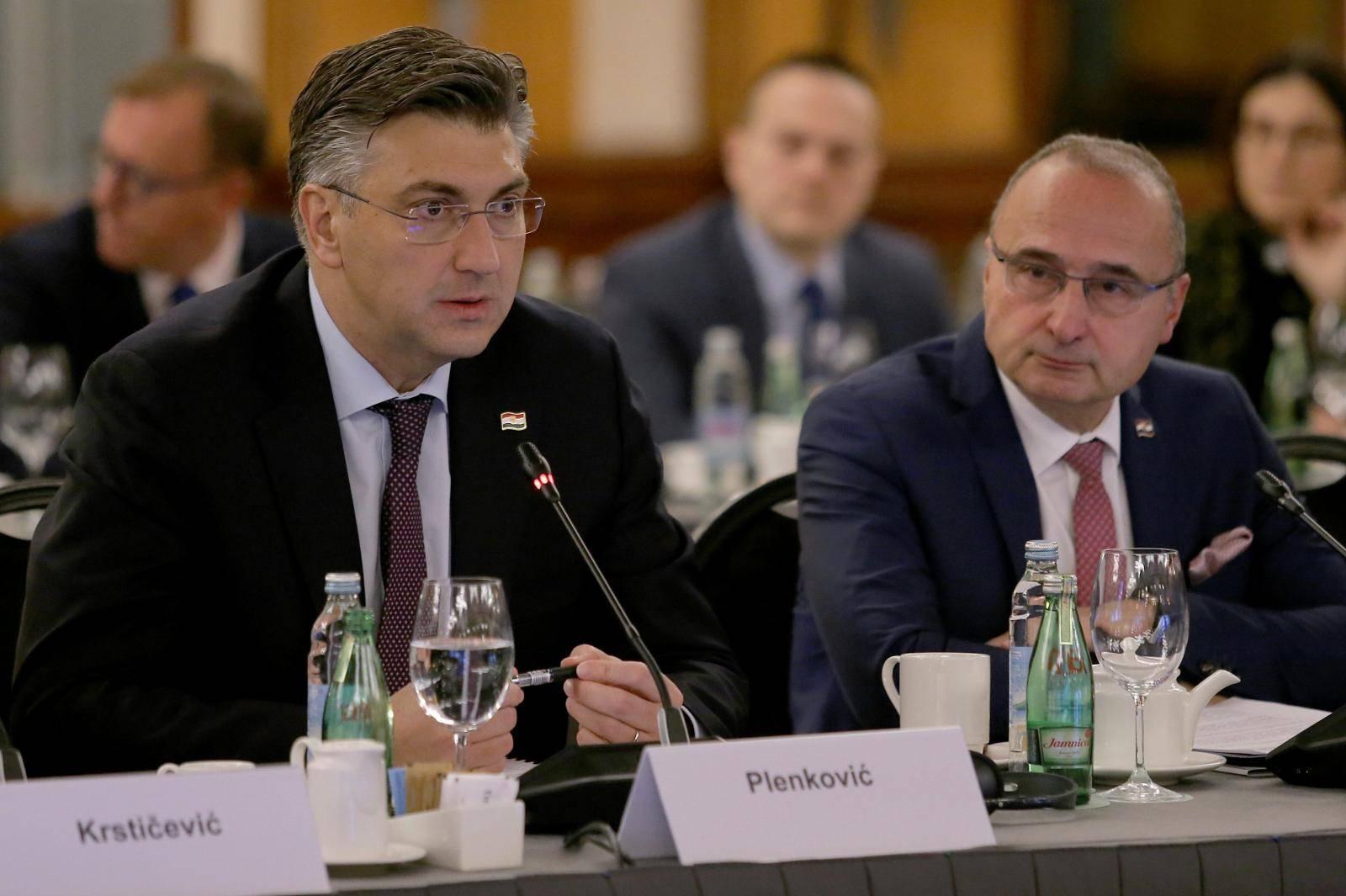 Zagreb: Sastanak Vlade RH i Konferencije predsjednika Europskog parlamenta