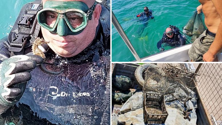 Morskog konjica našli u moru u Pirovcu. Nije ga bilo 15 godina