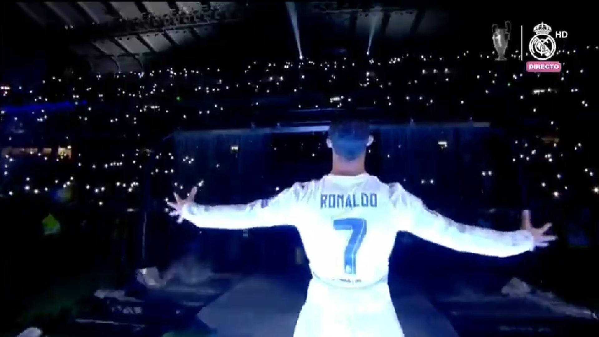 Ludnica preselila na Bernabéu: Ronaldo zapjevao s navijačima