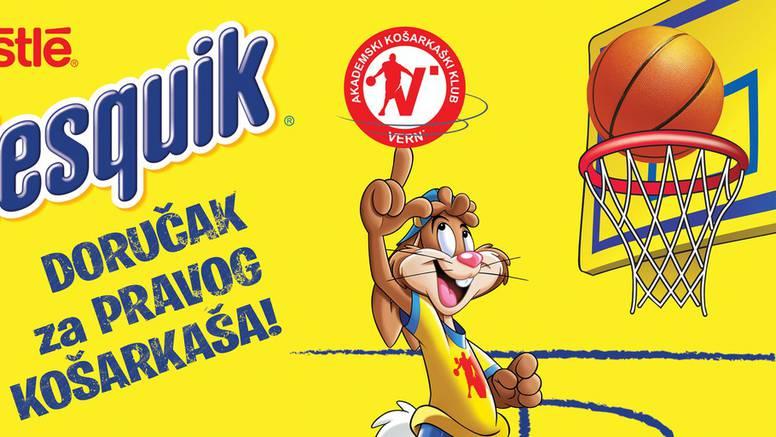 Nestlé Nesquik žitarice ponosan sponzor AKK VERN