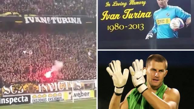 Prekrasna gesta: Preminulog Turine sjetili se navijači AIK-a