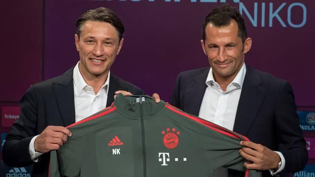FC Bayern Munich press conference