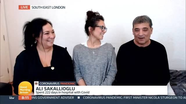 'Good Morning Britain' TV Show, London, UK - 17 Nov 2020