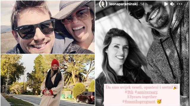 Leona Paraminski  uživa u trudnoći i sa suprugom slavi devetu godišnjicu braka