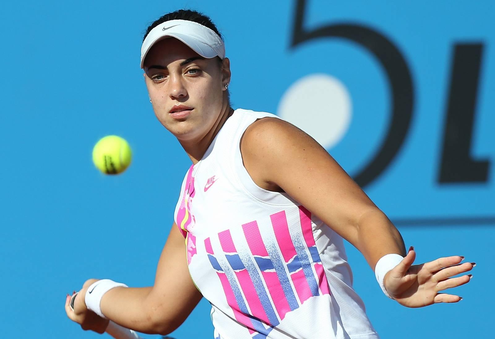 ITF Zagreb Ladies Open, finalni meč Ana Konjuh i Tereza Mrdeža