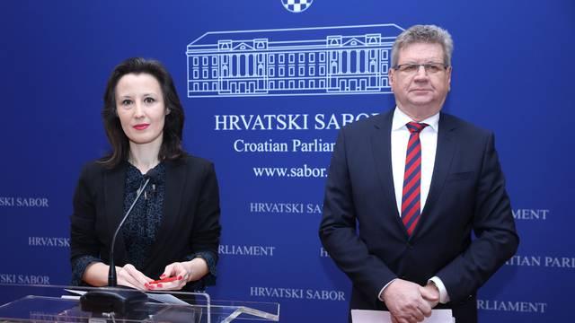 Zagreb: Dalija Orešković i Mirando Mrsić o korupciji u Hrvatskoj