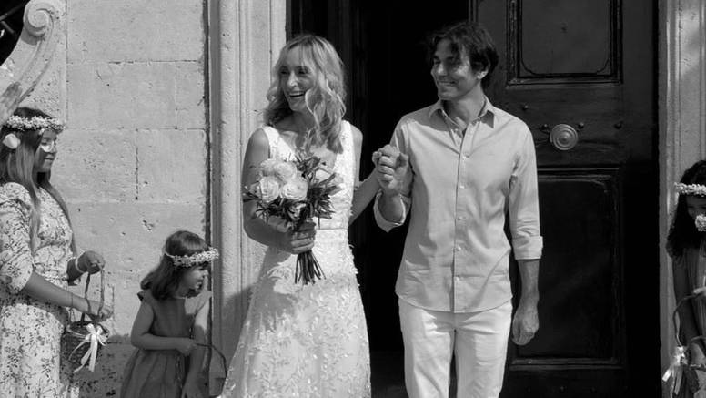 Nikša Kušelj i Mara Bratoš su se vjenčali nakon 8 godina veze