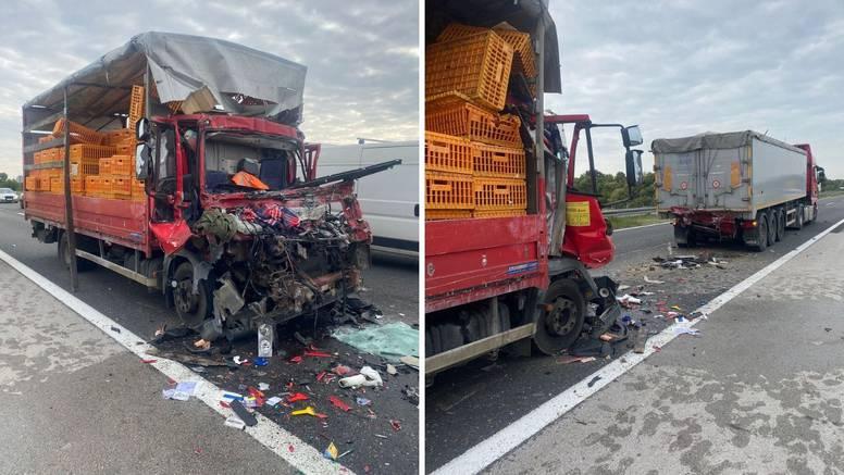 Užas kod Svete Helene: Jedan mrtav u sudaru dva kamiona