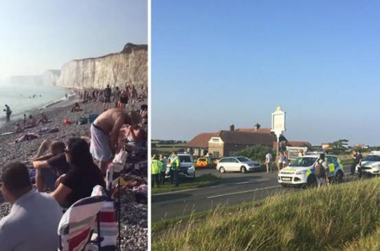 Uživali na plaži kad se pojavio 'oblak': Ljudi završili u bolnici