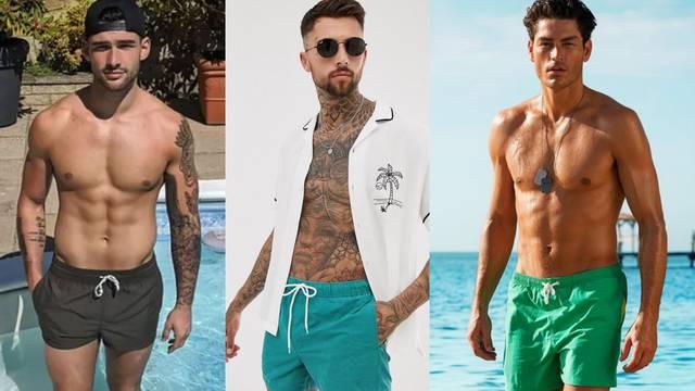Muški styling na plaži: Od gaća i košulja pa do  naočala i šešira