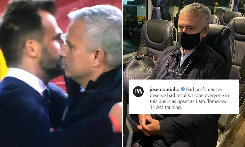 'Prezirem nogomet'! Mourinho i Ivan Leko u zagrljaju bez maski