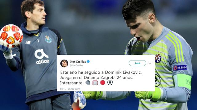 'Stiže li Livaković ovog ljeta?' Casillas i Porto u lovu na Livija
