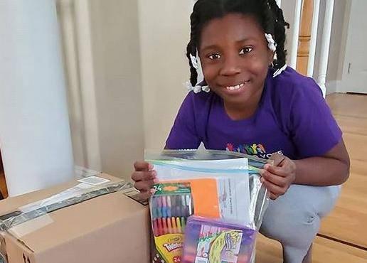 Mala humanitarka: Već s deset godina ona uveseljava druge