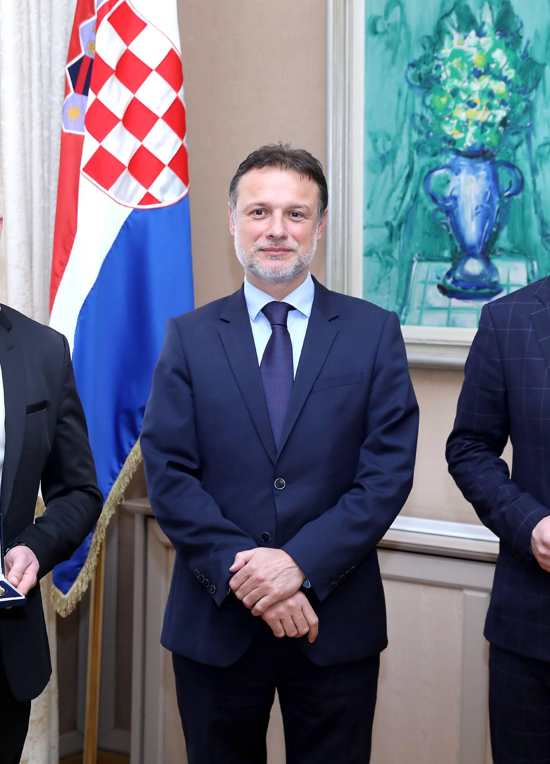 Zagreb: Jandroković primio rukometne suce koji su sudili finale Svjetskog prvenstva
