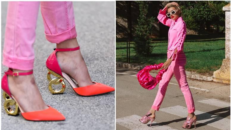 Ella oduševila izborom štikli, sa šljokasto ružičastih prešla na narančaste sa zlatnom petom