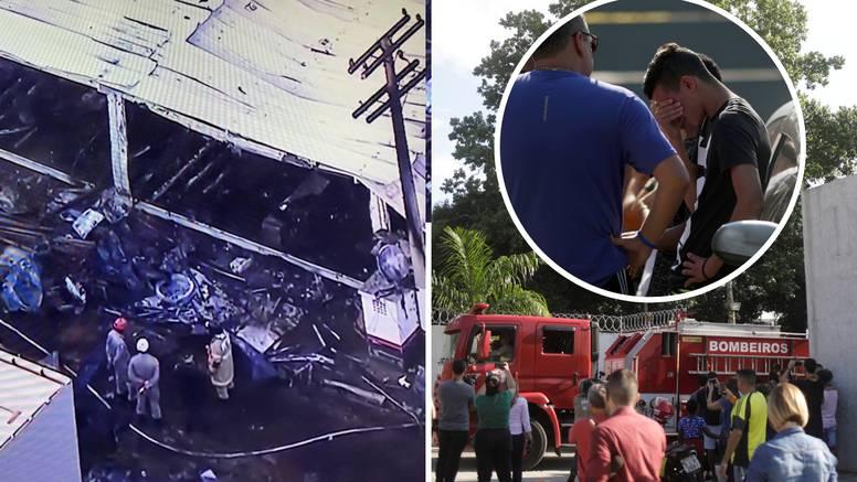 Strava u Brazilu! Mladi igrači Flamenga poginuli na spavanju