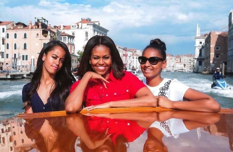 Uživa na putovanju: Michelle Obama odvela kćeri u Veneciju