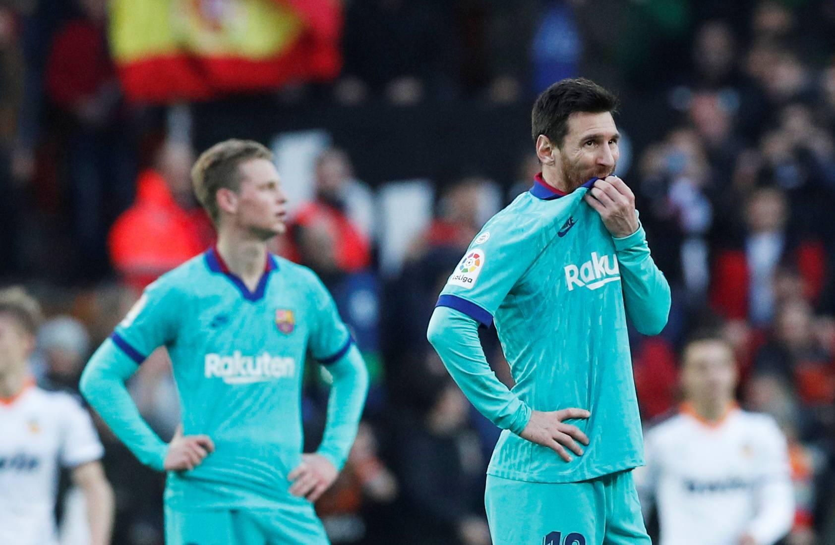 La Liga Santander - Valencia v FC Barcelona