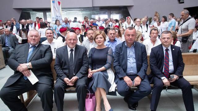 Zagreb: Manifestacija Vratimo nadu zavičaju
