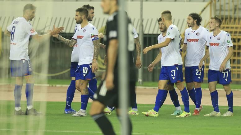 Hajduk pobijedio i treću u nizu: 'Bili' srušili Slaven na Poljudu!