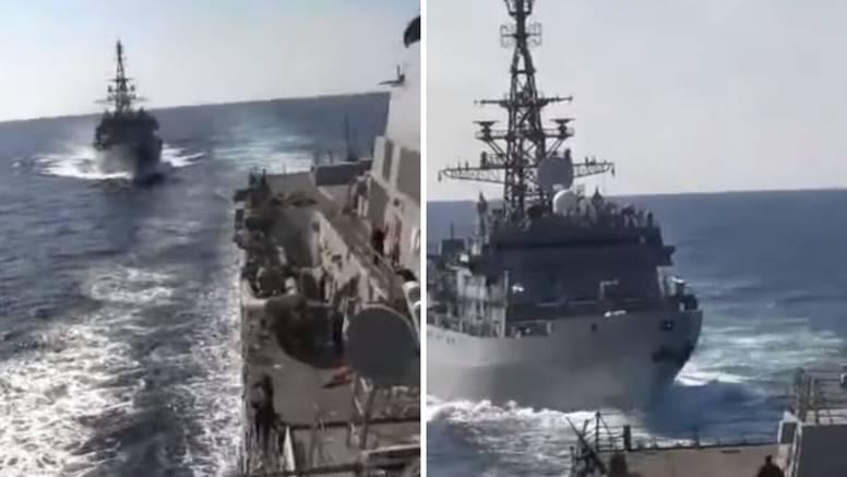 Rusi skoro udarili u američki razarač - ignorirali upozorenja
