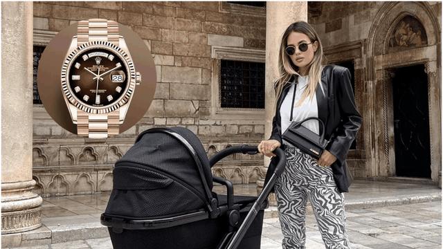 Adriana Ćaleta-Car izvela sina u šetnju pa se pohvalila Rolexom od gotovo 300 tisuća kuna?