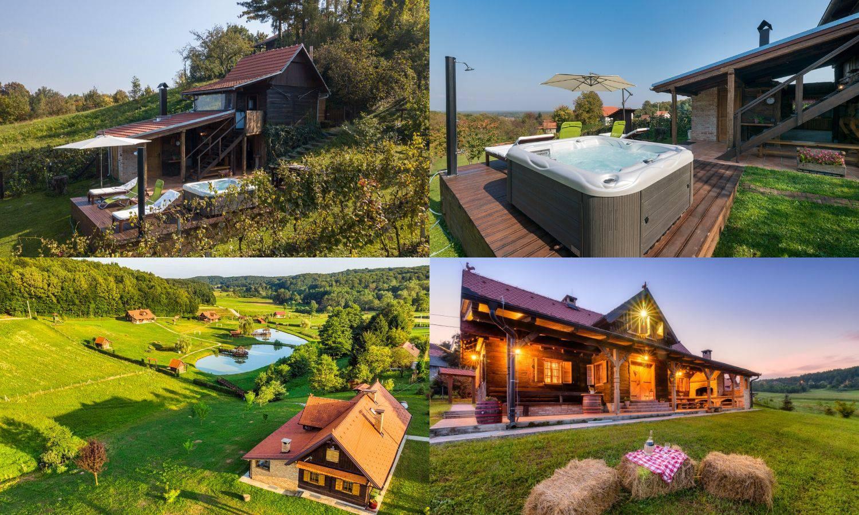 Predivne kuće za odmor blizu Zagreba - izliječit će sav stres