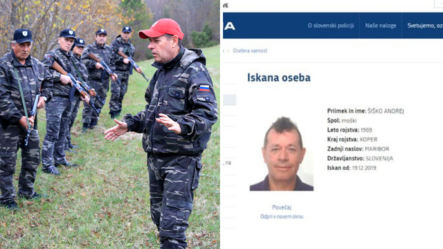 Slovenija izdala tjeralicu: Traže Šiška, vođu 'Štajerske straže'