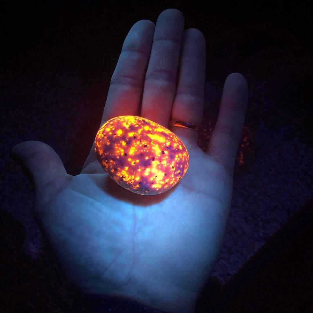 Jeste li ikad vidjeli kamen koji svijetli tako moćnim sjajem?