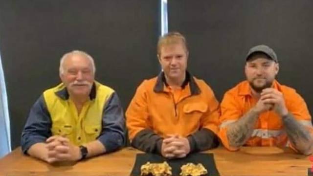 Pronašli dva zlatna grumena vrijedna više od dva milijuna