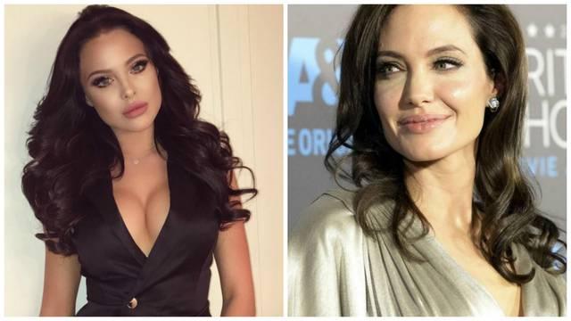 Mara je 'pljunuta' Jolie: Je li dvojnica zgodnija od originala?