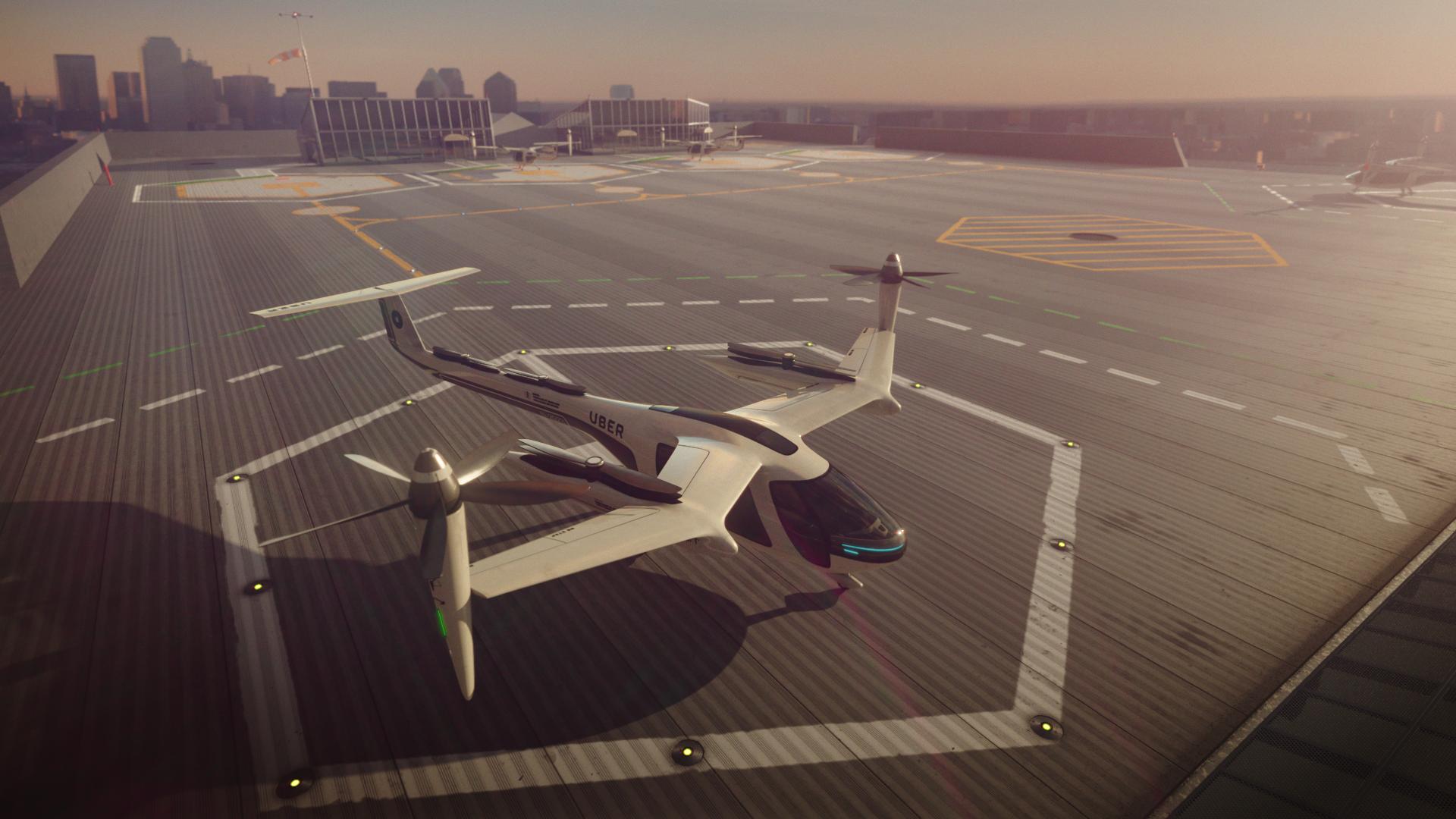 Uberov leteći taksi stiže 2020., a ovako će izgledati jedan let