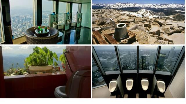 Nevjerojatni pogledi iz WC-a diljem svijeta - 14 fotografija