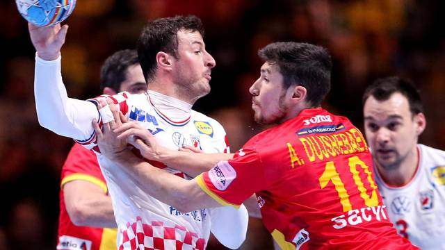 Stockholm: Hrvatska i Španjolska u utakmici finala Europskog prvenstva u rukometu