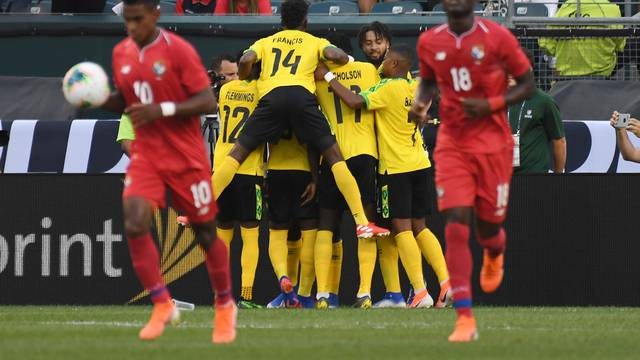 Soccer: CONCACAF Gold Cup-Jamaica at Panama