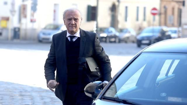 Zagreb: Dolazak ministara na sjednicu Vlade