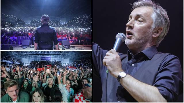Škoro zapjevao ispred 12.000 ljudi: 'Budite ponosni Hrvati'