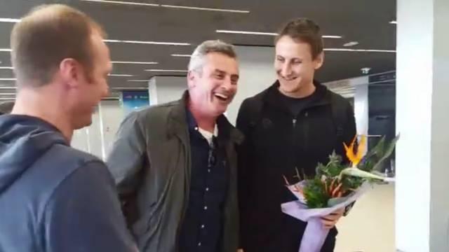 Sandro Sukno vratio se kući: Nadam se povratku vaterpolu