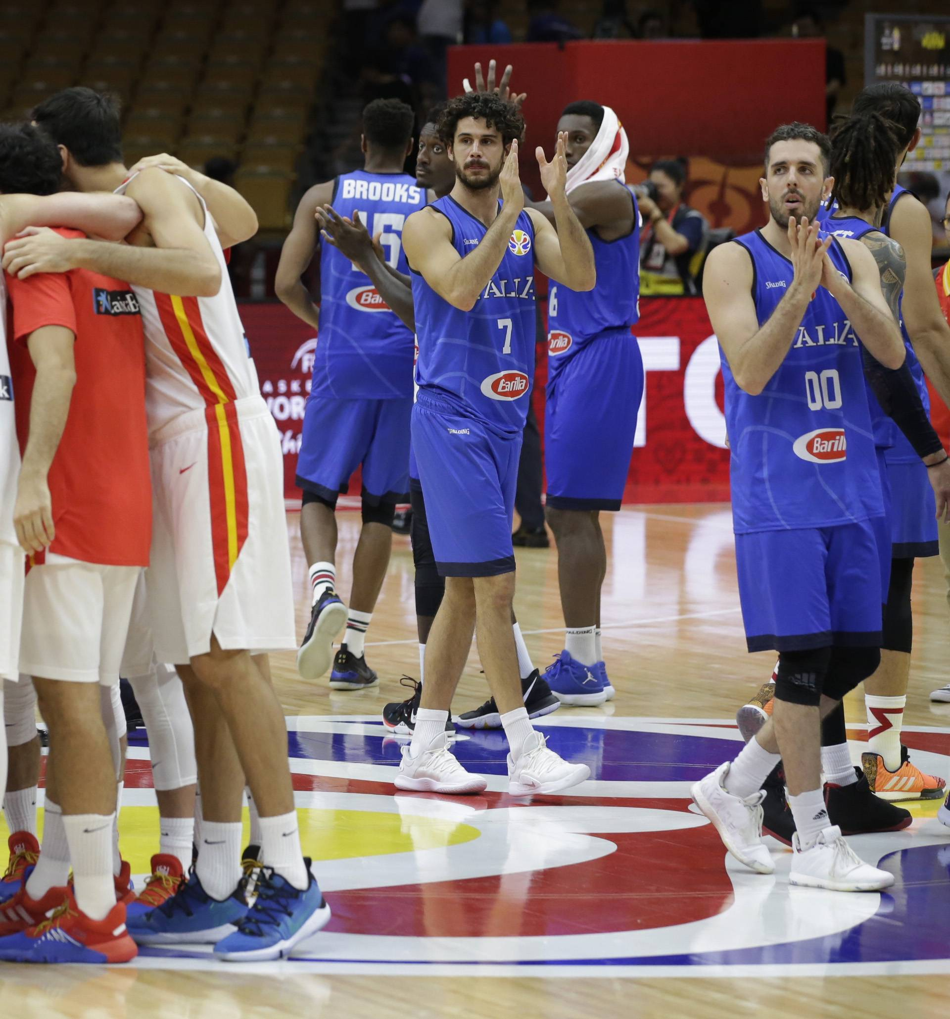 Basketball - FIBA World Cup - Second Round - Group J - Spain v Italy