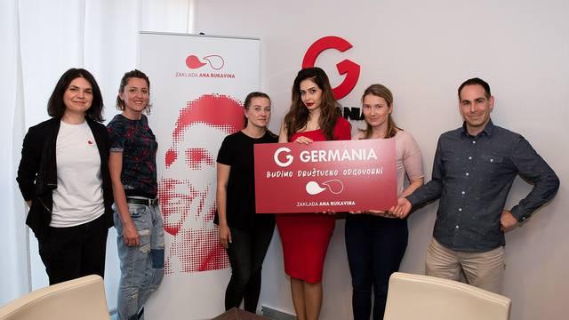 Sve nas spaja solidarnost - Germania Sport podržala rad Zaklade Ana Rukavina