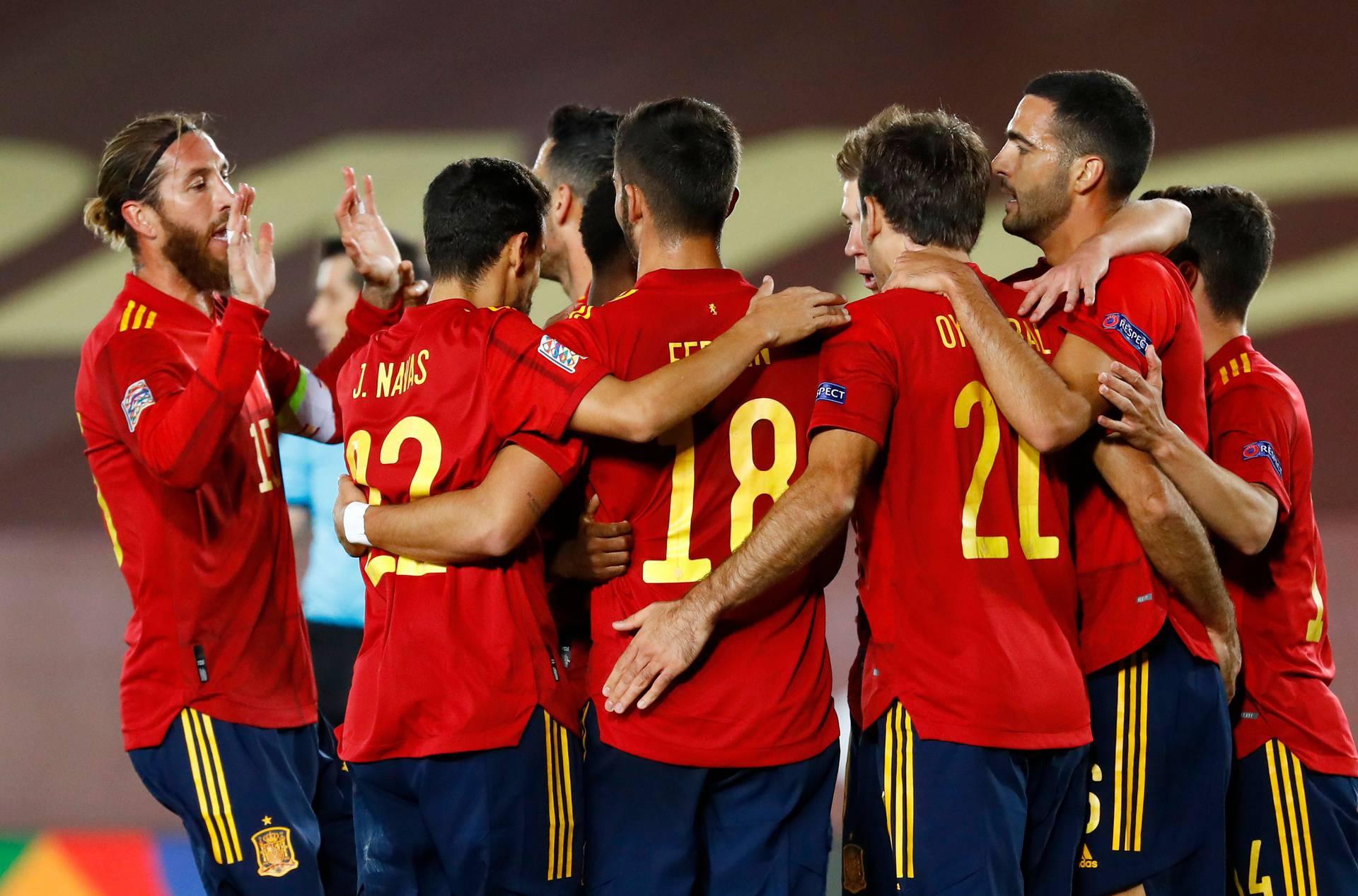 UEFA Nations League - League A - Group 4 - Spain v Switzerland