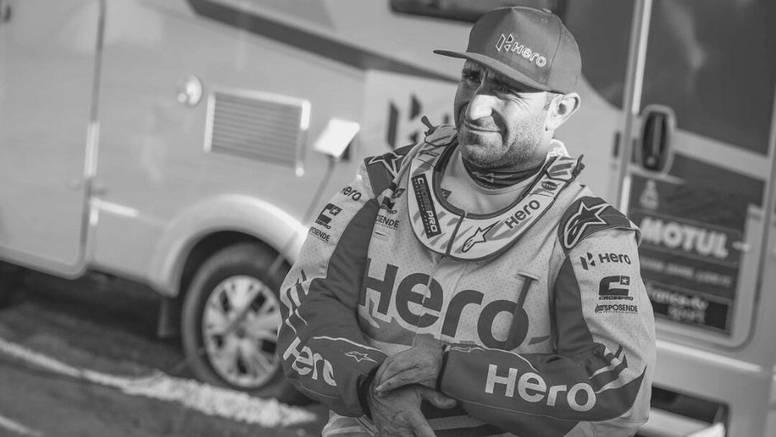 Strava na Dakaru: Motociklist pronađen mrtav, nije bilo spasa