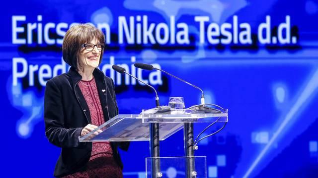 Zagreb: Kolinda Grabar Kitarović na proslavi 70 godina kompanije Ericsson Nikola Tesla