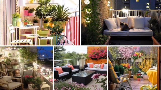 Gradski balkoni vole šarenilo, ukrase, svjetlo i puno biljaka